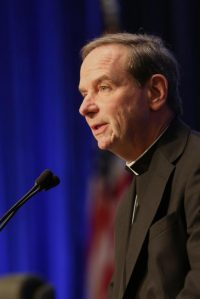 Bishop Michael F. Burbidge of Raleigh (CNS photo/Bob Roller)