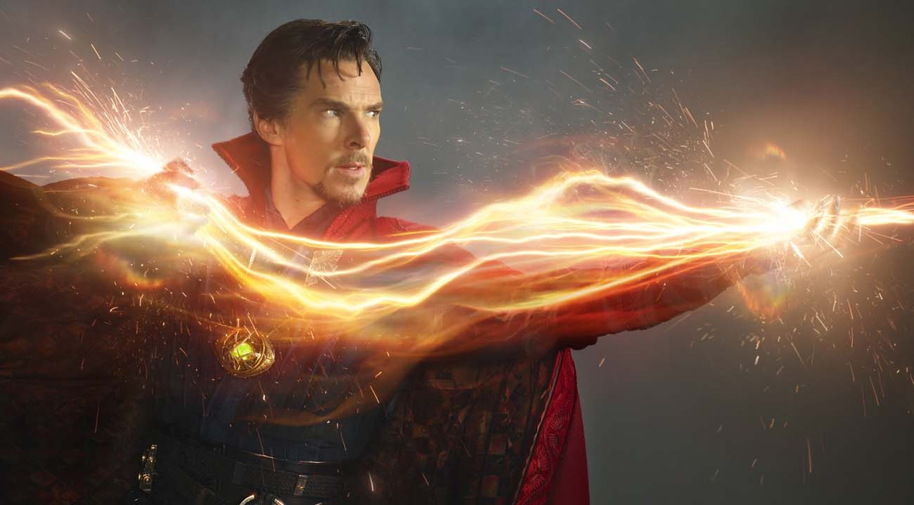 "Benedict Cumberbatch stars in a scene from the movie ""Doctor Strange.""  (CNS photo/Disney)"