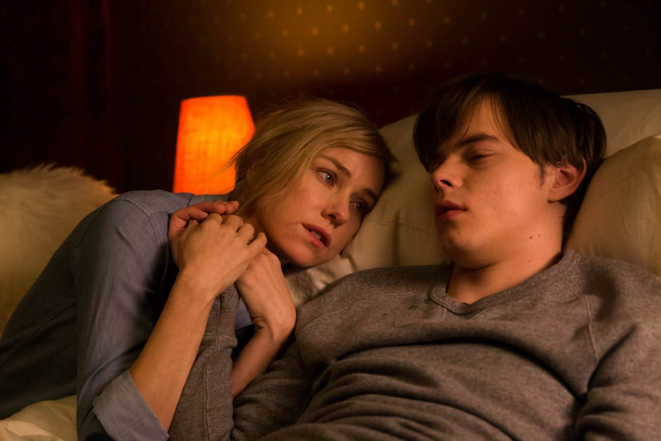 "Naomi Watts and Charlie Heaton star in a scene from the movie ""Shut In.""  (CNS photo/EuropaCorp)"
