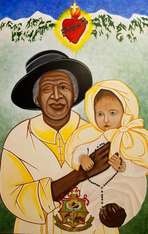 This image of Julia Greeley, a former slave who lived in Colorado, was commissioned by the Archdiocese of Denver by iconographer Vivian Imbruglia.(CNS photo/iconographer Vivian Imbruglia, courtesy Archdiocese of Denver)