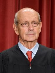 U.S. Supreme Court Justice Stephen Breye (CNS photo/Matthew Cavanaugh, EPA)