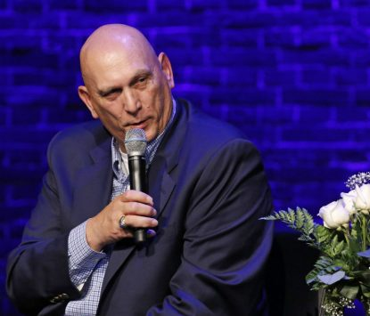 Retired U.S. Army Gen. Raymond Odierno speaks during an interfaith forum on the crisis for Christians in the Middle East at the Sheen Center in New York City Dec. 5. (CNS photo/Gregory A. Shemitz)