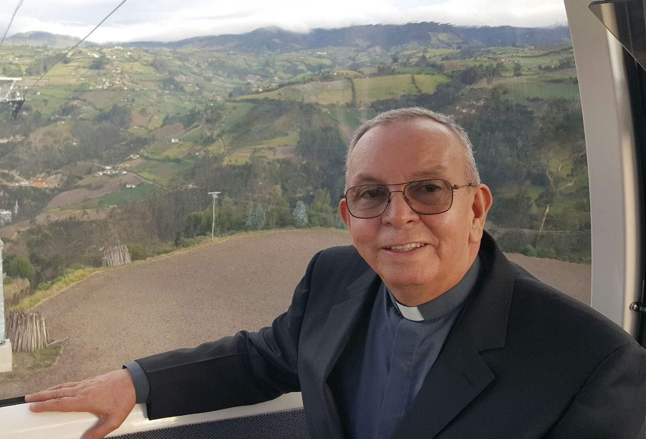 Msgr. Hector Fabio Henao, director of Caritas Colombia, is pictured in an undated photo. (CNS photo/courtesy Caritas Internationalis)