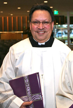 Father Alfred Baca is pictured in a 2014 photo. (CNS photo/courtesy Diocese of Orange)