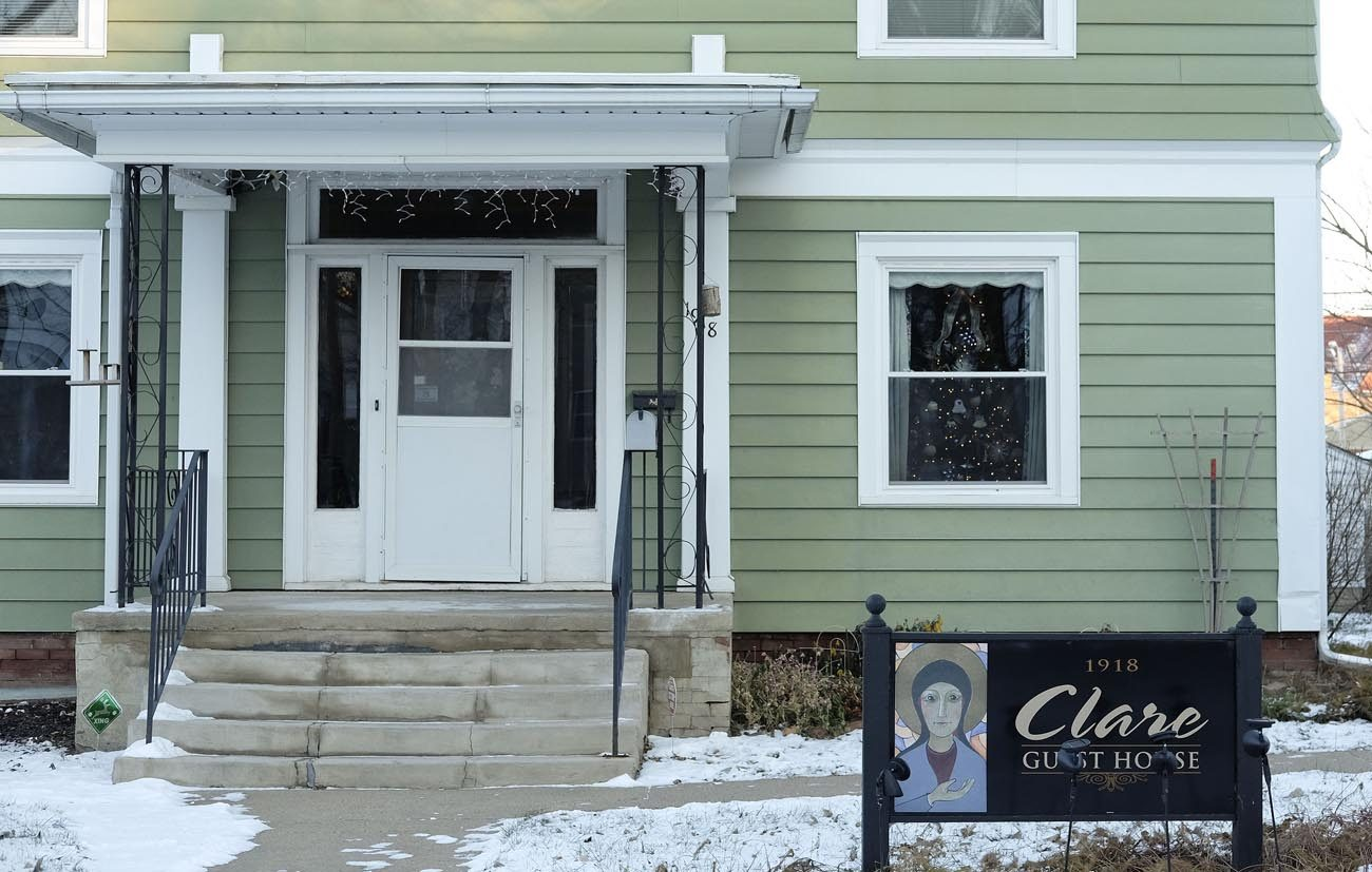The Clare Guest House, a transitional home for women after serving jail time, seen in December 2016. The guest house in Sioux City, Iowa, recently celebrated its 10th anniversary. (CNS photo/Jerry L Mennenga, The Catholic Globe)