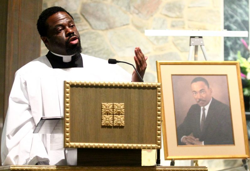 First-year seminarian Jamey Moses tells of his experience as a black man in today's society and in the church.