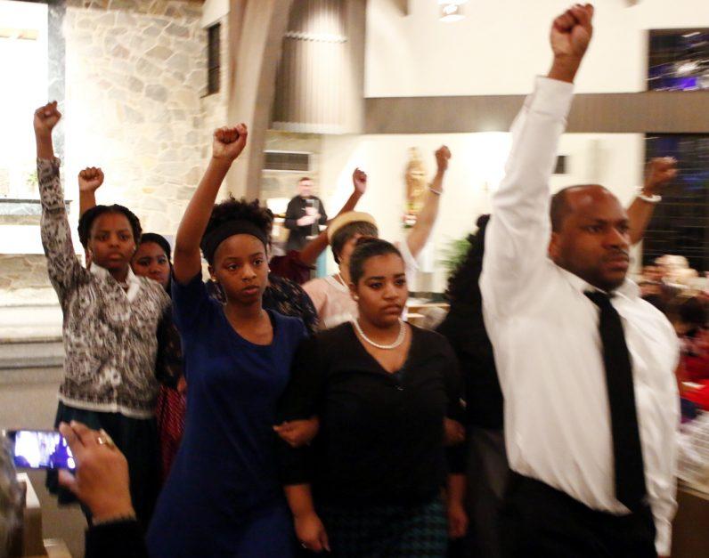 "Immanuel Movement Praise Team perform ""Glory."""