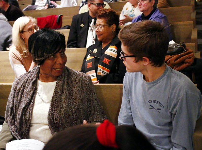 Barbara Cobia from St. Barbara Parish and Danny Horan from St. Philip Neri Parish discuss whether race relations are regressing.