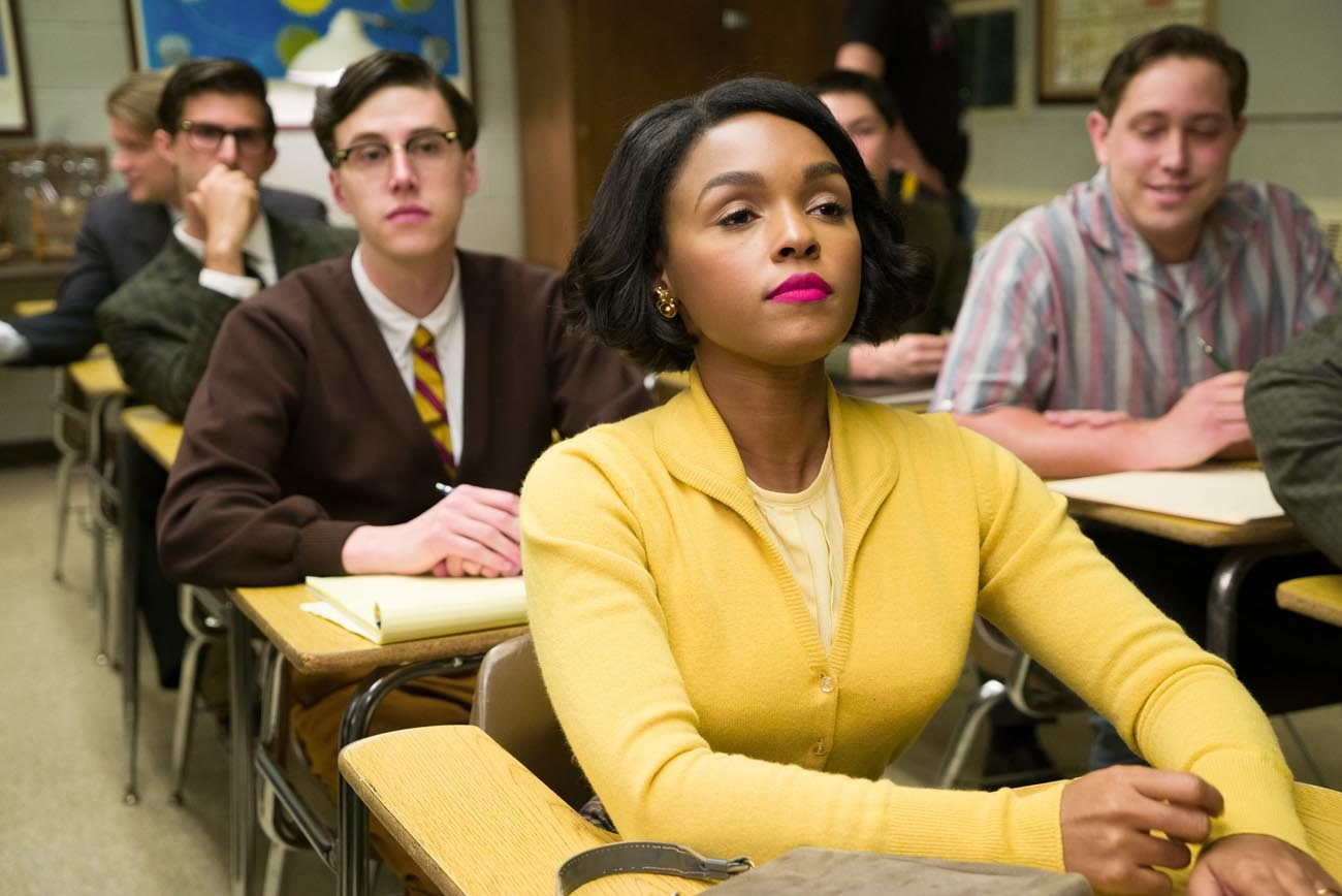 "Janelle Monae stars in a scene from the movie ""Hidden Figures."" (CNS photo/Fox)"