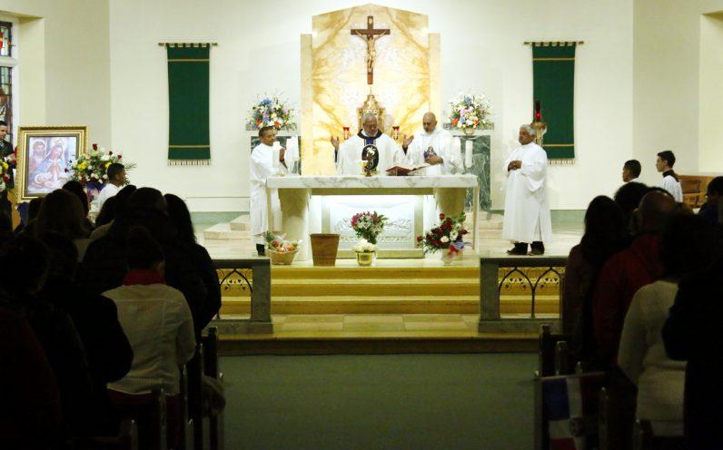 Deacon Andres A. Carrillo (Holy Innocents), Fr. Rafael Vargas, Deacon Manuel Beltran, Deacon Jose Hernandez