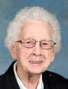 Sister Clare Annice White, S.S.J.