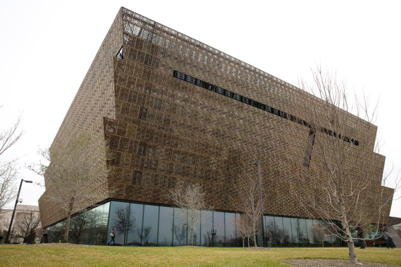 The National Museum of African American History and Culture is seen in Washington Jan. 5, 2017. February is African American history month. (CNS photo/Tyler Orsburn)