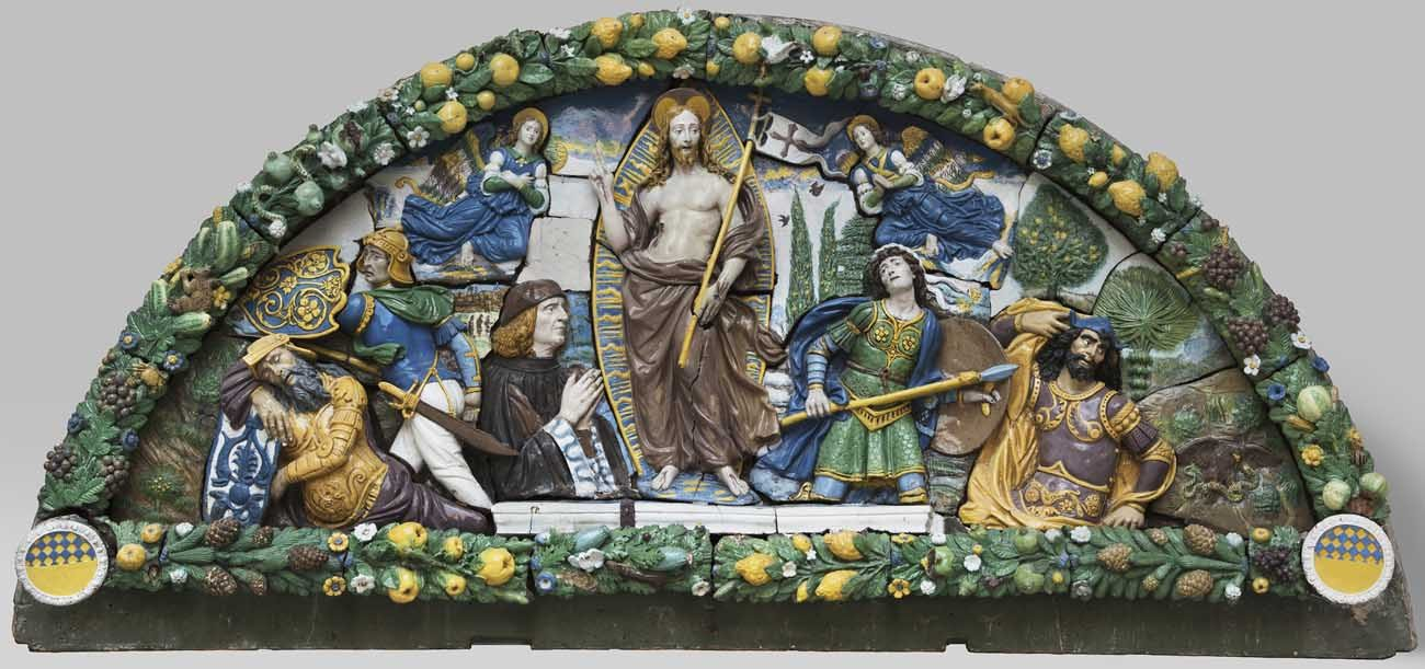 """Resurrection of Christ,"" was created in the early 1500s by Giovanni della Robbia, will be featured in an upcoming exhibit opening this spring at the National Gallery of Art in Washington. (CNS photo/courtesy National Gallery of Art)"