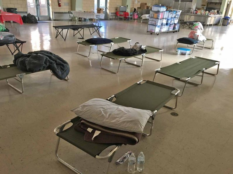 Beds and supplies are all set and ready to receive guests who need a warm place to stay on cold winter nights, thanks the Cold Blue program offered by Ann's Heart in Phoenixville.