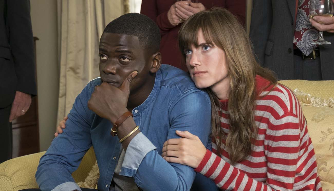 "Daniel Kaluuya and Allison Williams star in a scene from the movie ""Get Out.""  (CNS photo/Universal)"