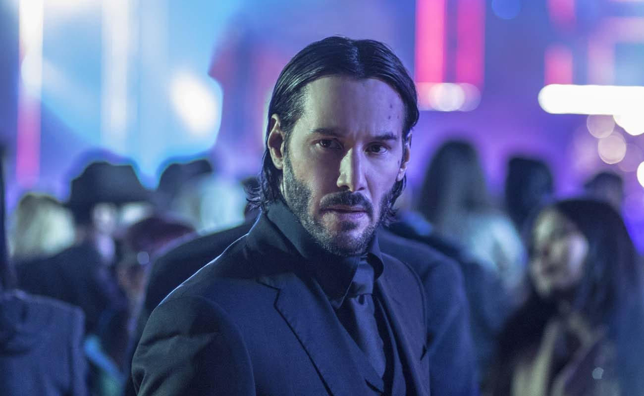 "Keanu Reeves stars in a scene from the movie ""John Wick: Chapter 2."" (CNS photo/Lionsgate)"