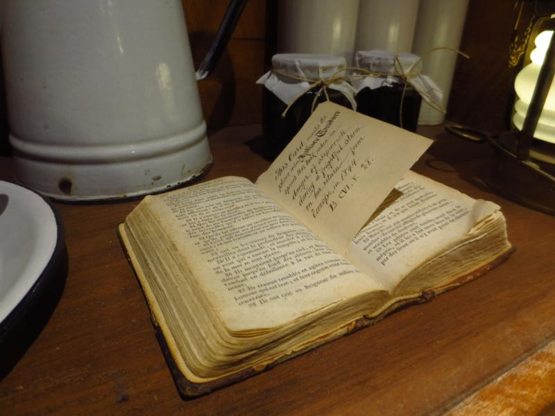 A Book of Psalms used by St. Mother Theodore Guerin is on display at her shrine Oct. 6, 2016, at the Sisters of Providence of St. Mary-of-the-Woods, Ind. Praying with the seven penitential psalms during Lent can help bring about conversion of heart and mind. (CNS photo/Katie Breidenbach)