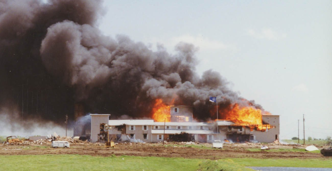 """This is a scene from the PBS documentary """"Oklahoma City,"""" which debuted Feb. 7. The """"American Experience"""" series explores the tragic bombing of the Alfred P. Murrah Federal Building in the eponymous state capital April 19, 1995. (CNS photo/PBS)"""