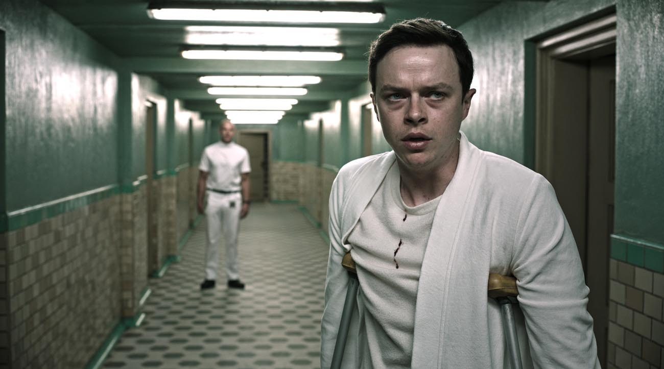 "Dane DeHaan stars in a scene from the movie ""A Cure for Wellness."" (CNS photo/Fox)"