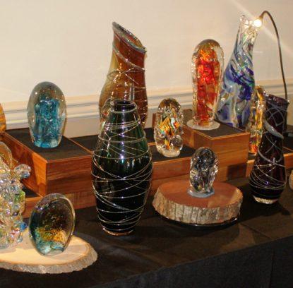 Malvern Art Show 2017 glass 2