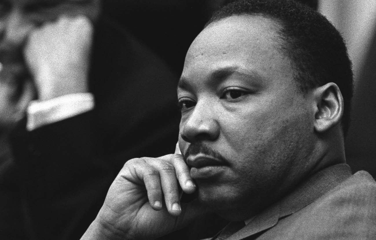 Rev. Martin Luther King Jr. is pictured in this 1966 photo. (CNS photo/Yoichi Okamoto, courtesy LBJ Library)