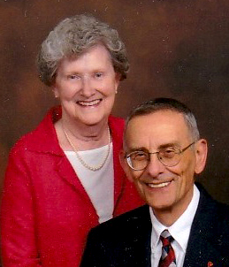 Betsey and Dave Russo, members of St. Eleanor Parish in Collegeville.