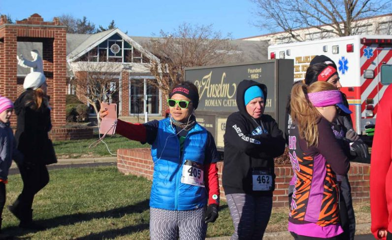 For some runners it was a cold morning, around 30 degrees. For others, it was just another sunny day in Northeast Philadelphia.