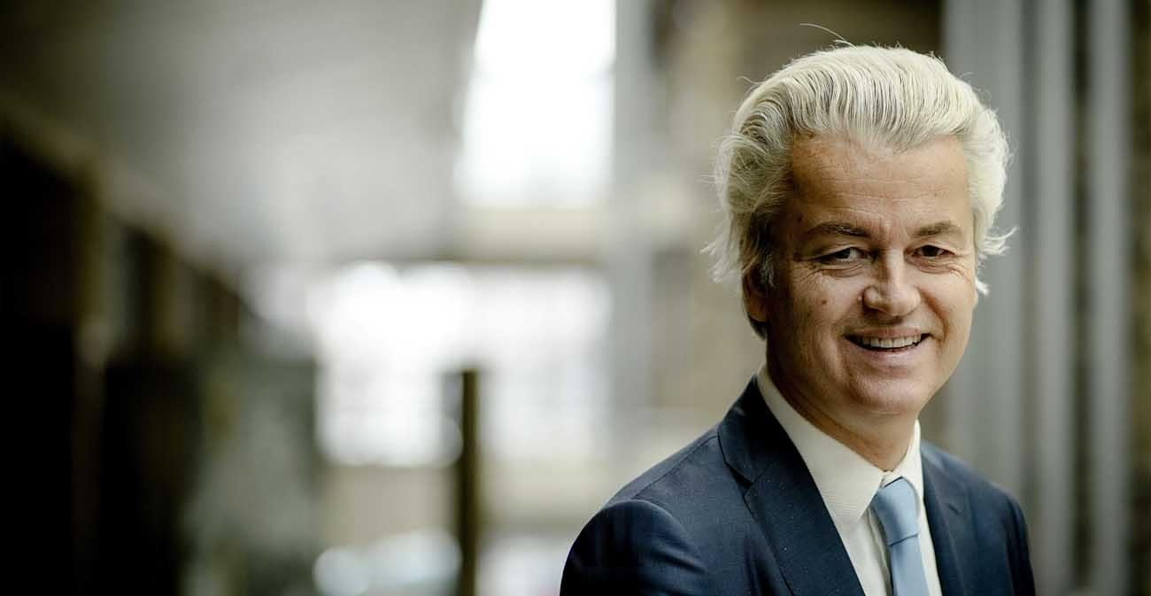 Geert Wilders is pictured in a March 2 photo. (CNS photo/Obin Van Lonkhuijsen, EPA)