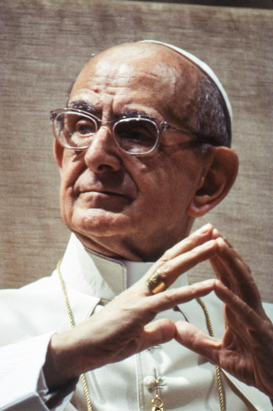 Blessed Paul VI is pictured in this undated photo.(CNS photo/Giancarlo Giuliani, Catholic Press Photo)