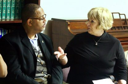 Kevin Williams and Den DePaul discuss race relations.
