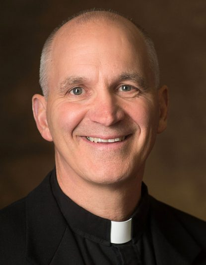 Pope Francis has named Father Steven Biegler, a priest of the Diocese of Rapid City, S.D., to head the Diocese of Cheyenne, Wy. Bishop-designate Biegler, ordained a priest in 1993 by then-Bishop Charles J. Chaput, is pictured in a March 7 photo. (CNS photo/West River Catholic)