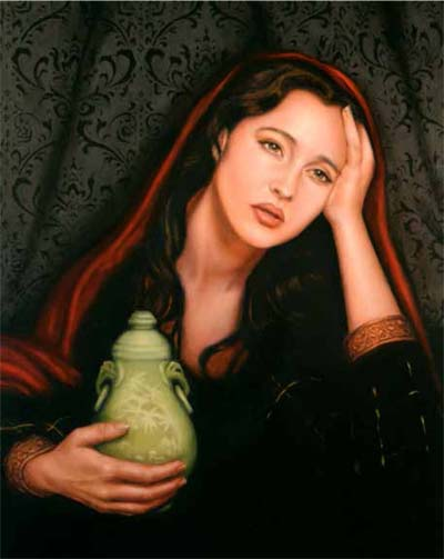 """St. Mary Magdalene,"" by Kathleen Carr of Rockville, Md., is one of the featured works at an art sale and auction sponsored by the American Academy of the Sacred Arts."