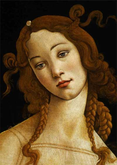 Sandro Botticelli, Venus, ca. 1484 -1490. Tempura on wood panel.
