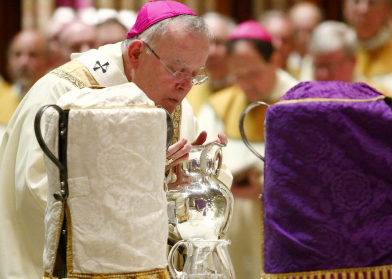 Cathedral Basilica set to host sacred liturgies of Holy Week