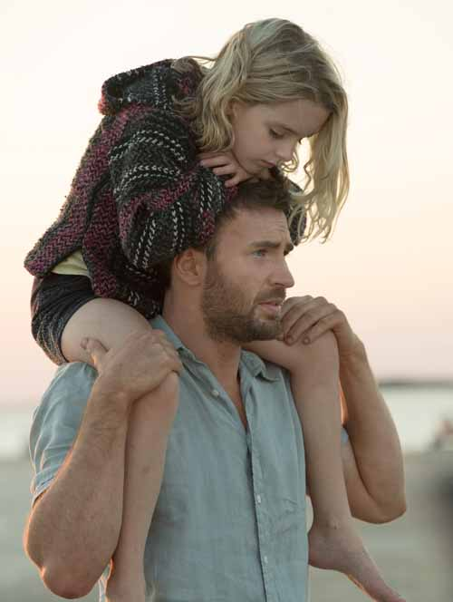"Mckenna Grace and Chris Evans star in a scene from the movie ""Gifted."" (CNS photo/Fox)"