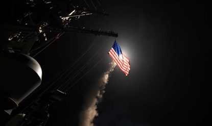 Tomahawk Missiles Used in Syria Attack Made in Arkansas