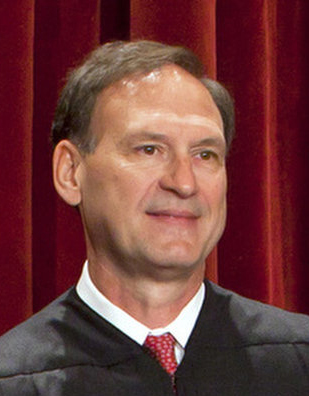 Justice Samuel Alito Jr. is shown in a U.S. Supreme Court portrait photo in 2010. (CNS photo/Jim Lo Scalzo, Reuters)