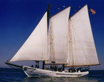 Launched in 1928 as an oyster schooner and restored in 1995 as an educational sailing ship, the A.J. Meerwald is New Jersey's official tall ship whose home port is Bivalve, Commercial Township, N.J.