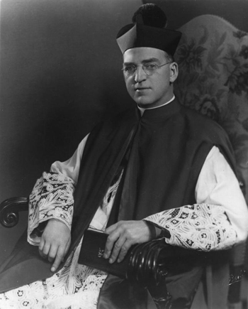 Father Edward Flanagan, the Irish-born priest who founded Boys Town in Nebraska, is pictured in an undated photo. The Vatican has taken a key step forward in the priest's sainthood cause, local officials said May 15. (CNS photo/courtesy Boys Town)