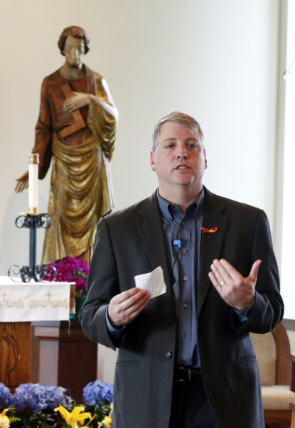 Mark Houck, founder and president of The King's Men, speaks on the role of fathers as the spiritual leader in the family.