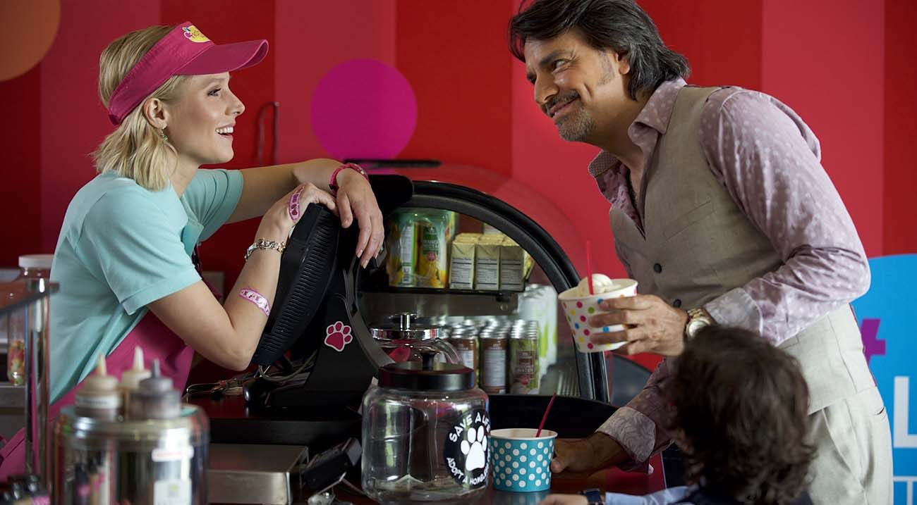 Kristen Bell And Eugenio Derbez Star In A Scene From The Movie