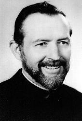 Father Stanley Rother, a priest of the Oklahoma City Archdiocese, is pictured in an undated photo. (CNS photo/Diane Clay, Sooner Catholic)