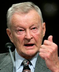 Zbigniew Brzezinski, who served as national security adviser to President Jimmy Carter and was a noted author, lector and statesman, died May 26 at age 89. His funeral Mass was celebrated June 9 at the Cathedral of St. Matthew the Apostle in Washington. He is pictured in a 2007 photo. (CNS photo/Jim Young, Reuters) See BRZEZINSKI-FUNERAL June 12, 2017.
