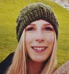 Christine Archibald, a 30-year-old Canadian who was one of eight victims killed in the June 3 London Bridge attack, is pictured in an undated handout photo. Archibald's parents are parishioners at St. Rita Church in Castlegar, B.C. (CNS photo/London police handout)