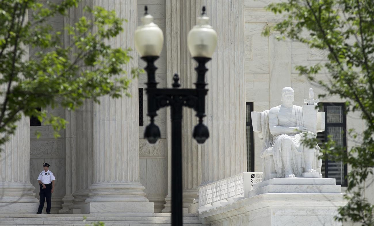 The U.S. Supreme Court in Washington is seen June 7. (CNS photo/Tyler Orsburn)