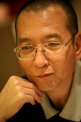 Liu Xiaobo, the 2010 Nobel Peace Prize winner, is pictured in an undated photo. (CNS photo/handout via Reuters)