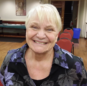 "Old St. Joseph's parishioner Joan Slavin, a member of the parish's eldership group, spearheaded the effort to stage ""The Jeweler's Shop"" and bring a spiritual component to a senior activity open to everyone."