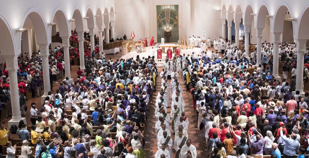 The 12th National Black Catholic Congress in Orlando, Fla., closes with a Mass July 9. (CNS/courtesy Nancy Jo Davis, National Black Catholic Congress)