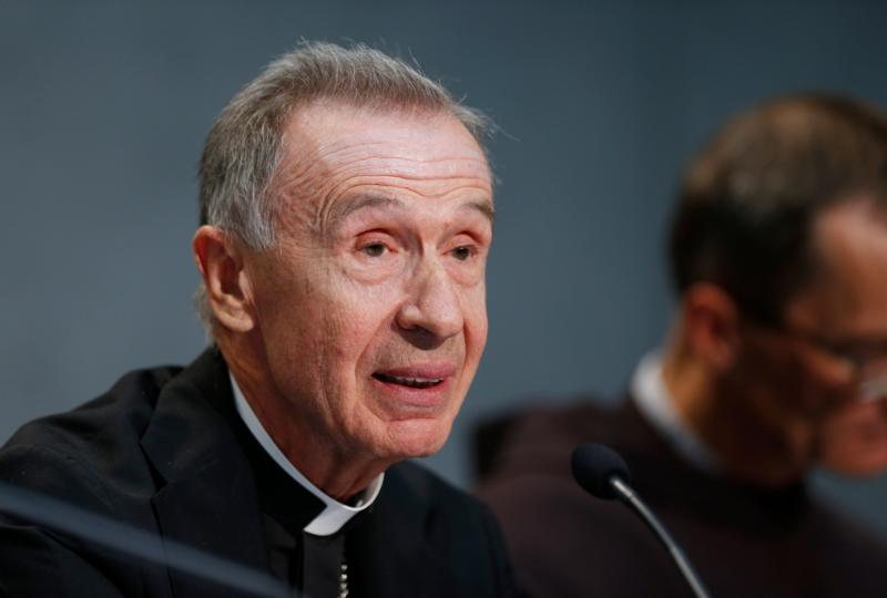 Spanish Archbishop Luis Ladaria Ferrer, 73, has been appointed by Pope Francis as the new prefect of the Congregation for the Doctrine of the Faith. The Jesuit theologian has served as secretary of the congregation since 2008. He is pictured at a Vatican press conference for the release of Pope Francis' documents on marriage annulments in this Sept. 8, 2015, file photo. (CNS photo/Paul Haring)