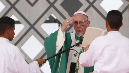 Pope Blasts Climate Skeptics, Cites 'Moral' Duty To Act